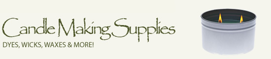 Candle Making Supplies at Wellington Fragrance! Dyes, Wicks, Waxes and More.
