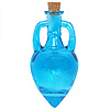 Aqua  Amphora Bottle with Stand