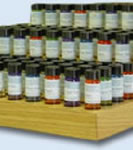 120 1/2 ounce Vial Display w/30 Fragrances