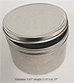 Eight  Ounce Metal Tin