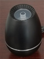 Giro Black Compact Silent USB Essential Oil Diffuser w/Changing LED Lights