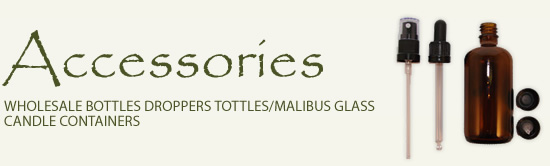 Wholesale Bottles Droppers Tottles/Malibus Glass Candle Containers at Wellington Fragrance!