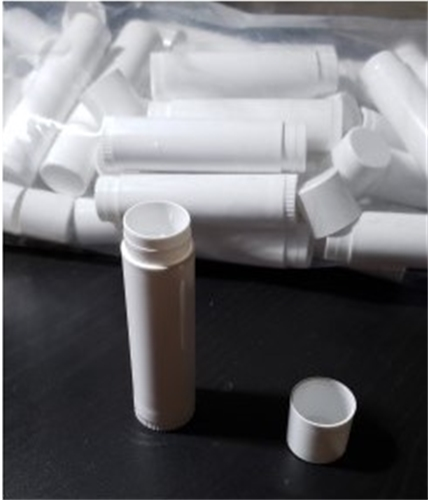 Lip Balm Tube White .15 oz