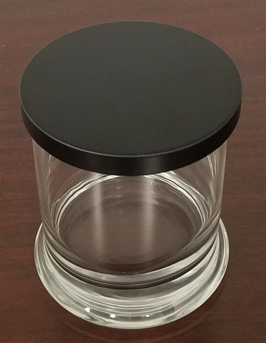 11 oz. Metro Candle Container w/flat lid   Case Pack 24 pieces   3.875 Height x 3 Diameter