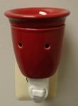 Electric Plug In Burner Red P17