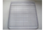24 Bar Deep  Rectangle Grid Slab Tray Mold 236