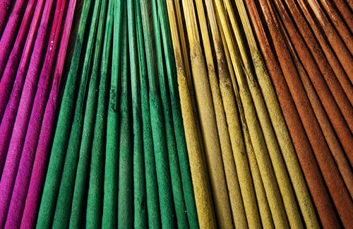 "Unscented 10.5"" Yellow Incense Sticks Bundles of 100"