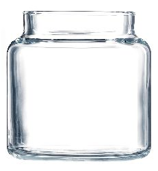 16 oz. Apothecary Candle Container w/ Flat Lid   Case Pack 12 Pieces  4.0 Height x 3.0 Diameter