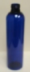 Cosmo 8 oz. Blue PET Bottle  No Cap